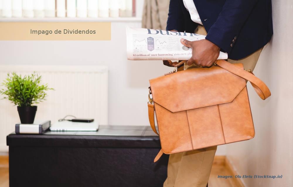 No reparto de dividendos, marcha de socio