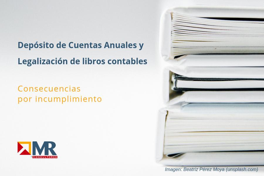Legalización Libros y Depósito de cuentas